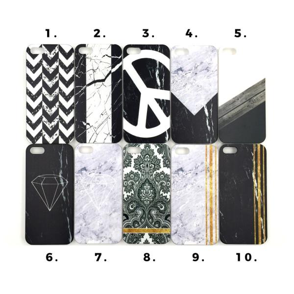 Skal med motiv iPhone 5/5S/SE MultiColor Motiv 9