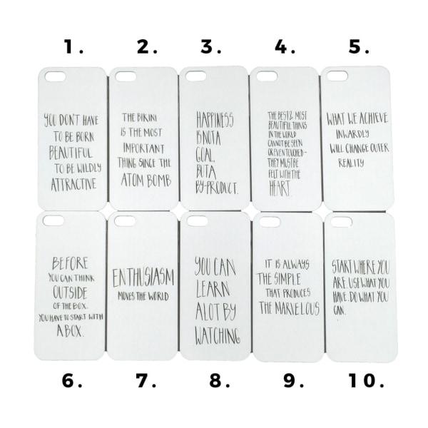 Skal med motiv iPhone 5/5S/SE MultiColor Motiv 5
