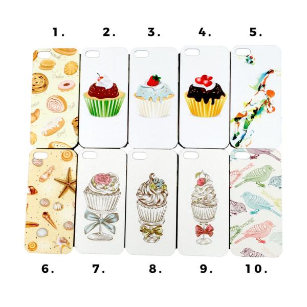 Skal med motiv iPhone 5/5S/SE MultiColor Motiv 2