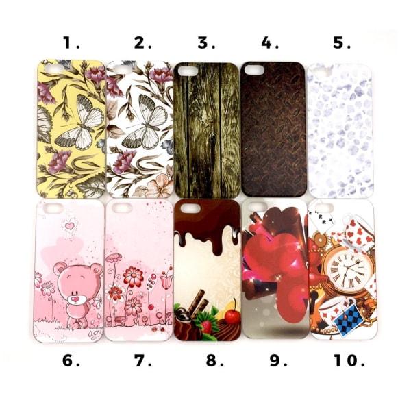Skal med motiv iPhone 5/5S/SE MultiColor Motiv 3