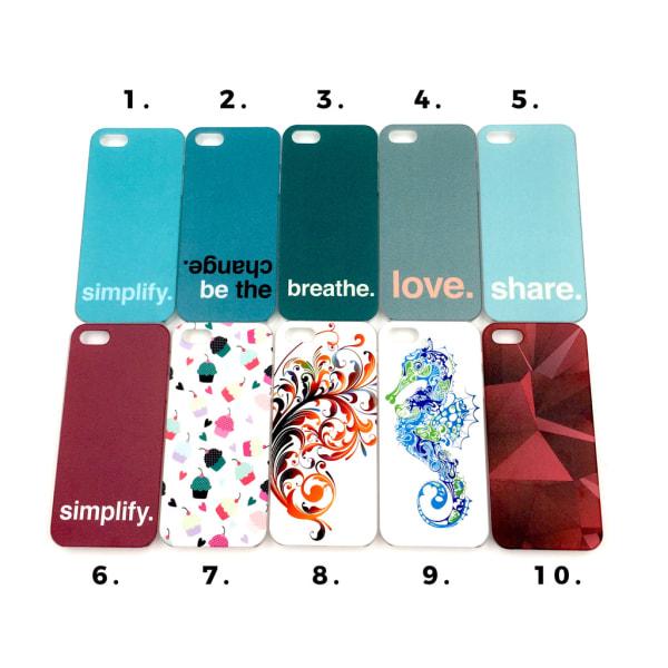 Skal med motiv iPhone 5/5S/SE MultiColor Motiv 1