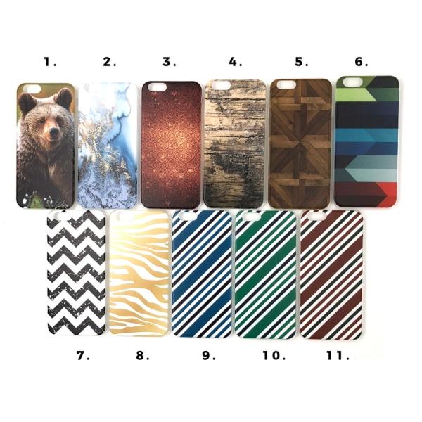 Skal med motiv iPhone 6/6S multifärg