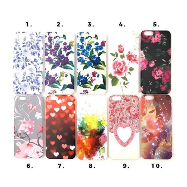 Skal med motiv iPhone 6/6S MultiColor Motiv 6