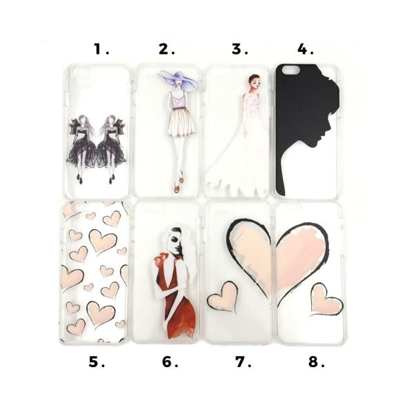 Skal med motiv iPhone 6/6S MultiColor Motiv 1