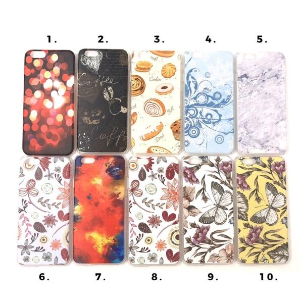Skal med motiv iPhone 6/6S MultiColor Motiv 9