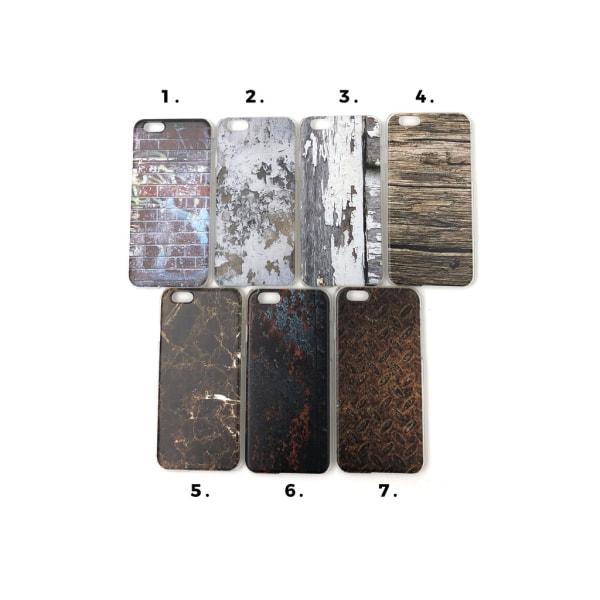 Skal med motiv iPhone 6/6S MultiColor Motiv 3