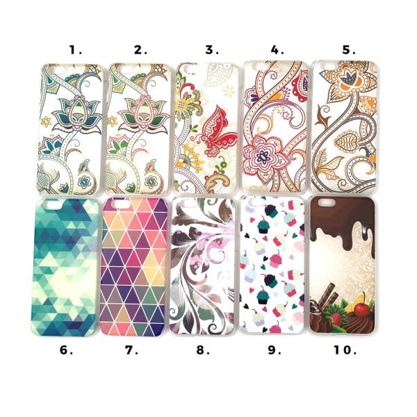 Skal med motiv iPhone 6/6S MultiColor Motiv 4