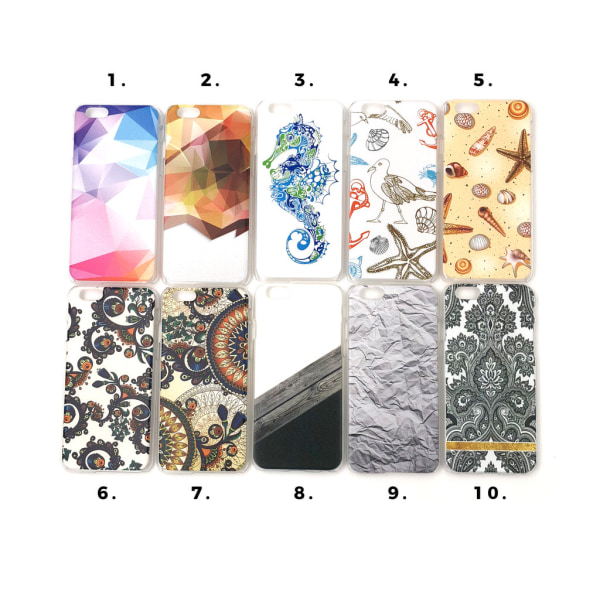 Skal med motiv iPhone 6/6S MultiColor Motiv 5