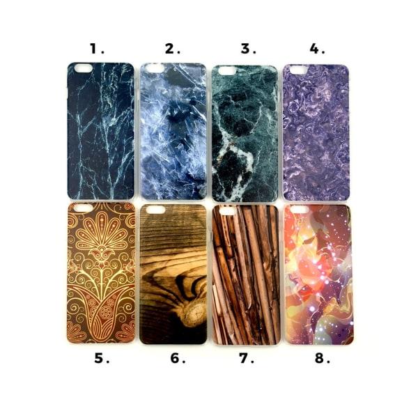 Skal med motiv iPhone 6/6S PLUS MultiColor Motiv 7
