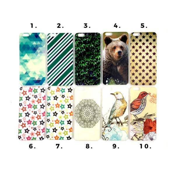 Skal med motiv iPhone 6/6S PLUS MultiColor Motiv 3