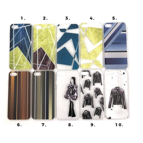 Skal med motiv iPhone 7/8 multifärg