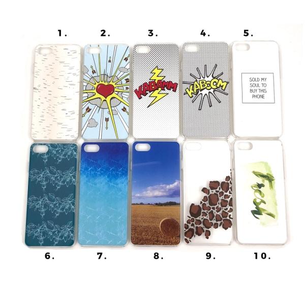 Skal med motiv iPhone 7/8 MultiColor Motiv 3