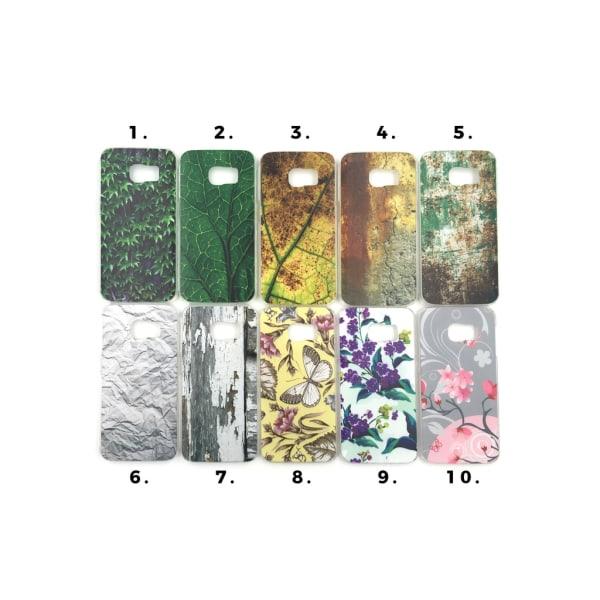Skal med motiv Samsung S6 Edge MultiColor Motiv 2