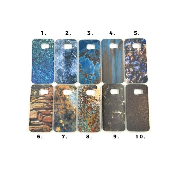 Skal med motiv Samsung S6 Edge MultiColor Motiv 8