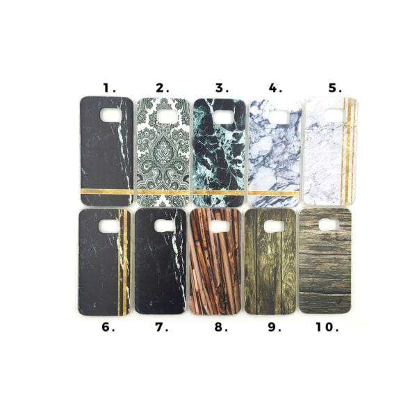 Skal med motiv Samsung S6 Edge MultiColor Motiv 9