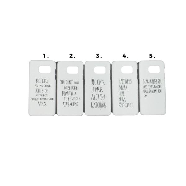 Skal med motiv Samsung S7 Edge MultiColor Motiv 2
