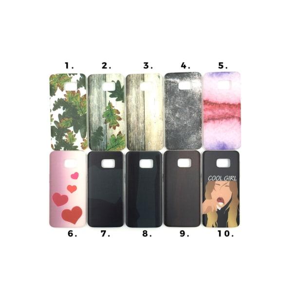 Skal med motiv Samsung S7 Edge MultiColor Motiv 4