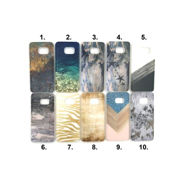 Skal med motiv Samsung S7 MultiColor Motiv 6