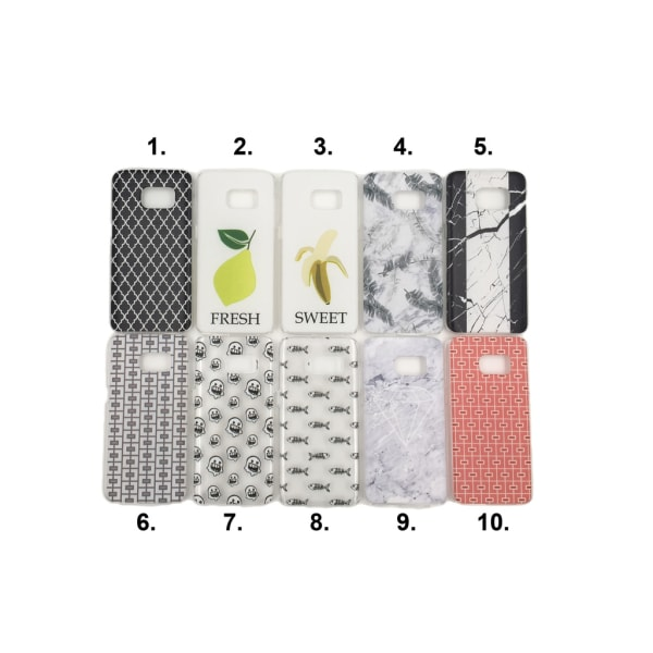 Skal med motiv Samsung S7 MultiColor Motiv 4