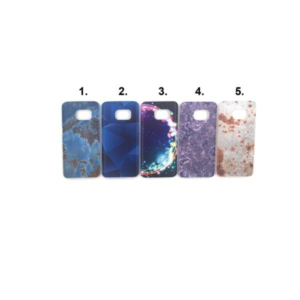 Skal med motiv Samsung S7 MultiColor Motiv 5