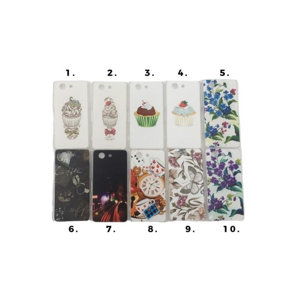 Skal med motiv Sony Xperia Z3 Compact MultiColor Motiv 7