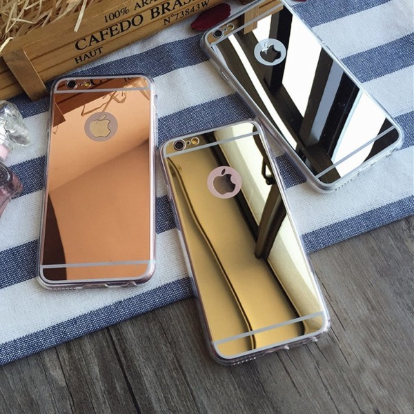 Spegelskal iPhone 6/6S - fler färger Svart