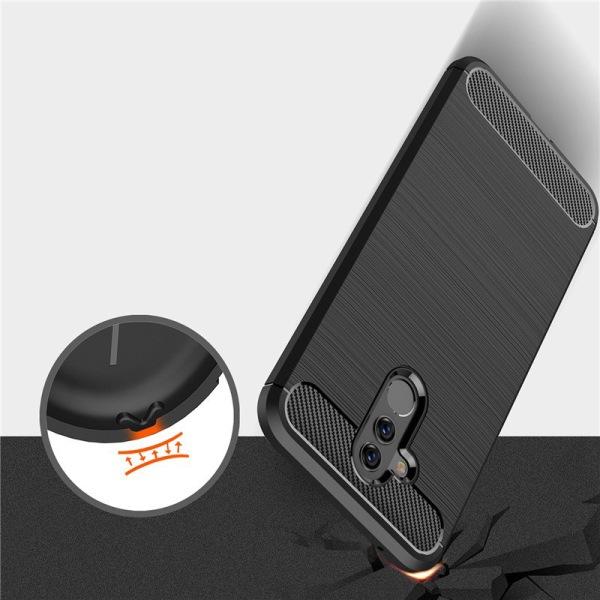 Stöttåligt Armor Carbon TPU-skal Huawei Mate 20 Lite - fler färg Svart