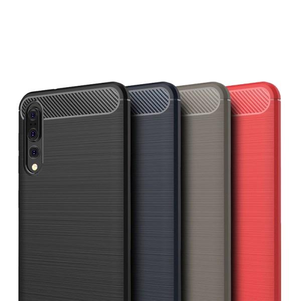 Stöttåligt Armor Carbon TPU-skal Huawei P20 Pro - fler färger Blå