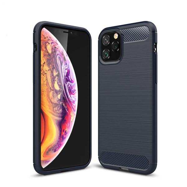 Stöttåligt Armor Carbon TPU-skal iPhone 11 Pro Max - fler färger Blå