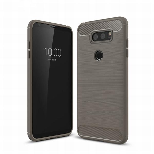 Stöttåligt Armor Carbon TPU-skal LG V30 - fler färger grå