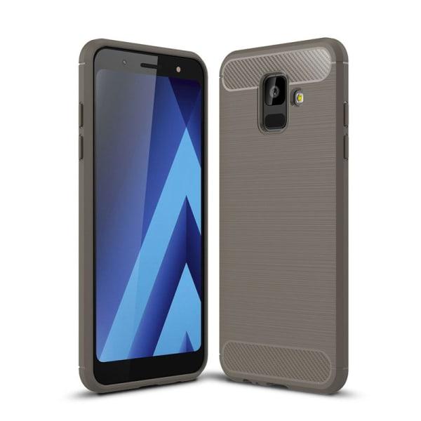 Stöttåligt Armor Carbon TPU-skal Samsung A6+ 2018 - fler färger grå