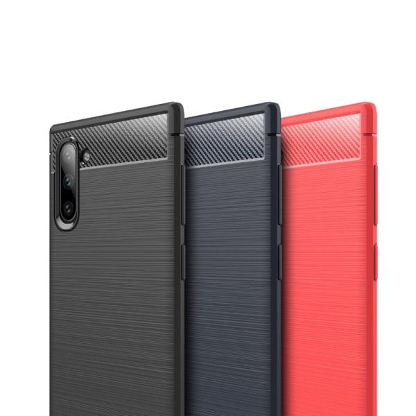 Stöttåligt Armor Carbon TPU-skal Samsung Note 10 - fler färger Grå