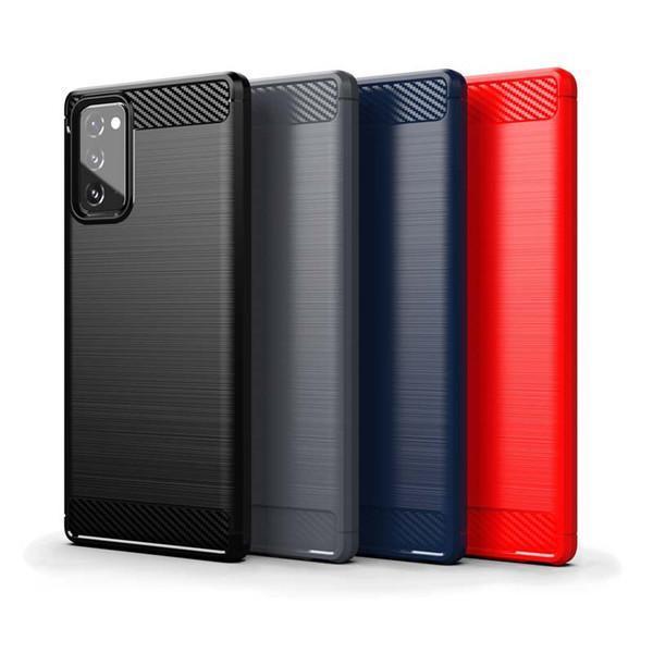 Stöttåligt Armor Carbon TPU-skal Samsung Note 20 - fler färger Svart