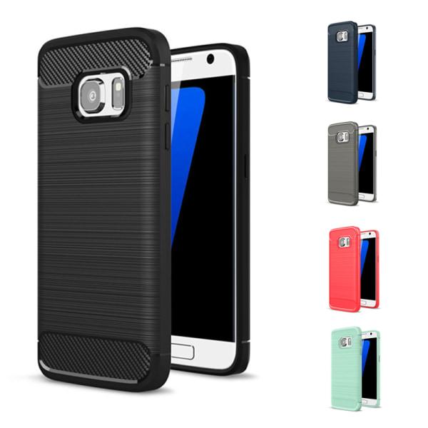 Stöttåligt Armor Carbon TPU-skal Samsung S7 - fler färger Svart