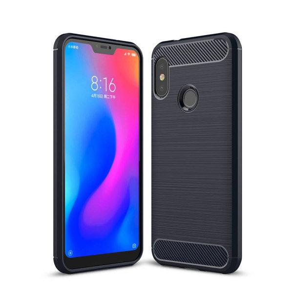 Stöttåligt Armor Carbon TPU-skal Xiaomi Mi A2 Lite - fler färger Blå