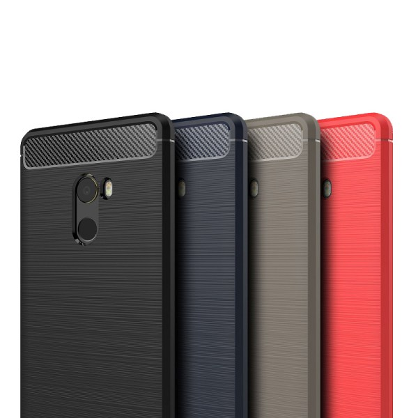 Stöttåligt Armor Carbon TPU-skal Xiaomi Mi Mix 2 - fler färger Svart