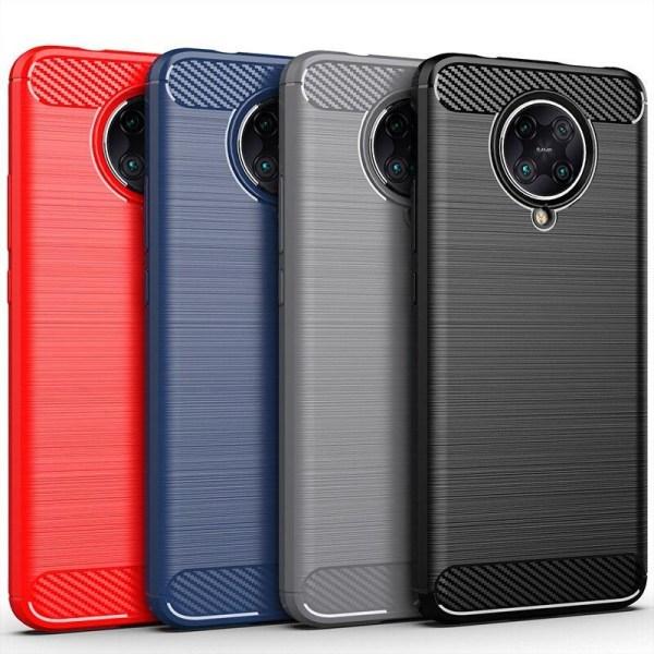 Stöttåligt Armor Carbon TPU-skal Xiaomi Poco F2 Pro - fler färge Blå
