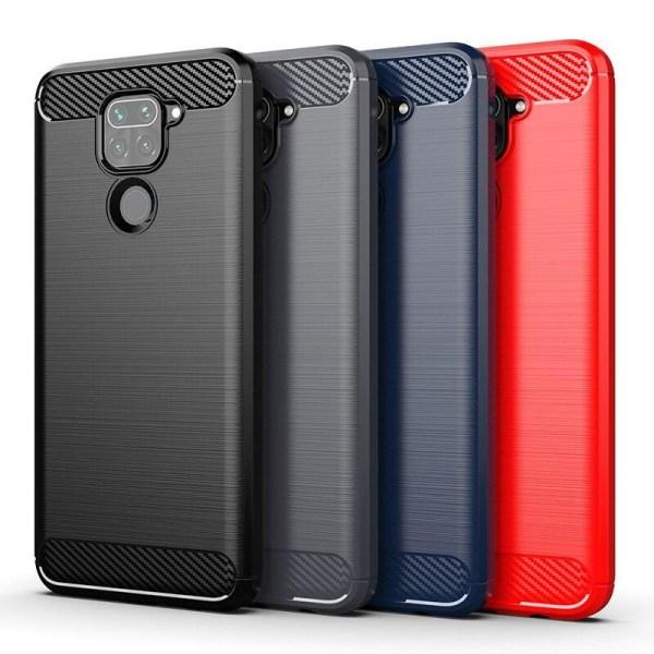Stöttåligt Armor Carbon TPU-skal Xiaomi Redmi Note 9 - fler färg grå
