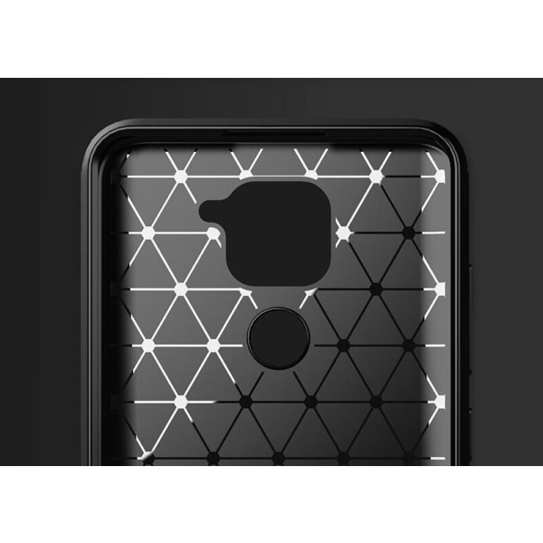 Stöttåligt Armor Carbon TPU-skal Xiaomi Redmi Note 9 - fler färg Röd