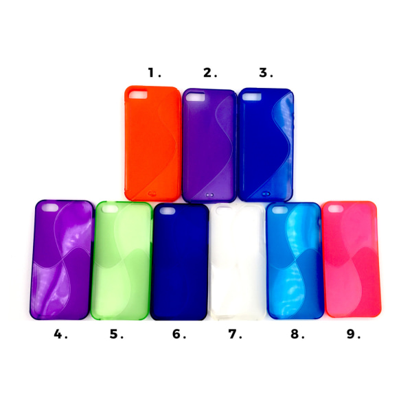 Swirl Skal iPhone 5/5S/SE - fler färger Orange
