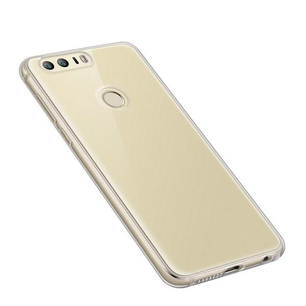 Transparent Silikon TPU-Skal till Huawei Honor 8 Transparent
