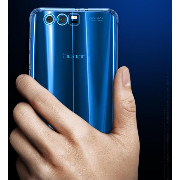 Transparent Silikon TPU-Skal till Huawei Honor 9 Transparent