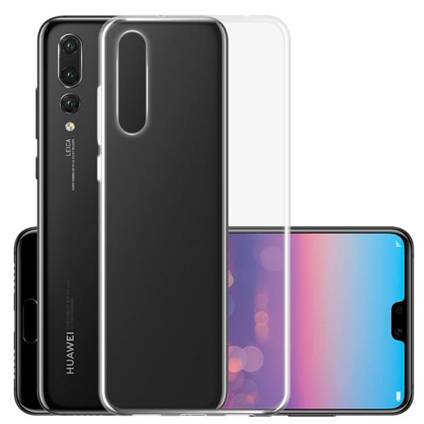 Transparent Silikon TPU-Skal till Huawei P20 Pro Transparent