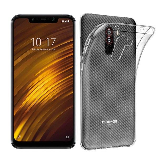 Transparent Silikon TPU-Skal till Xiaomi Pocophone F1 Transparent