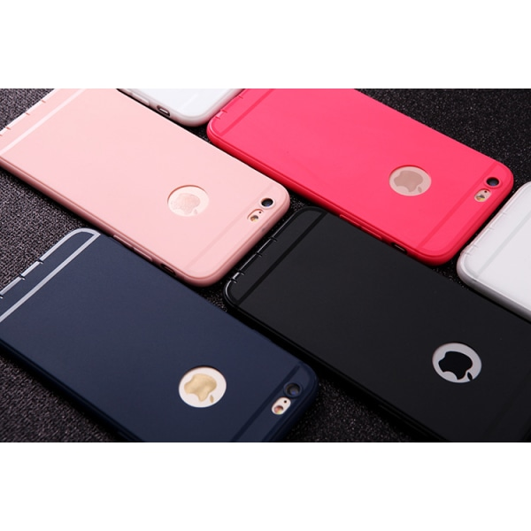 Ultraslim Silikon Skal till iPhone 6/6S - fler färger Svart