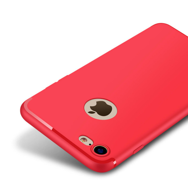Ultraslim Silikon Skal till iPhone 7 - fler färger Röd