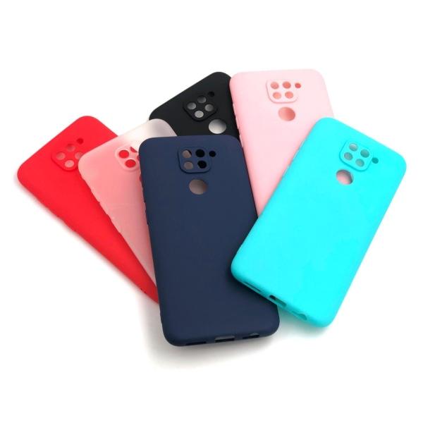 Xiaomi Redmi Note 9 Ultratunn Silikonskal - fler färger Blå