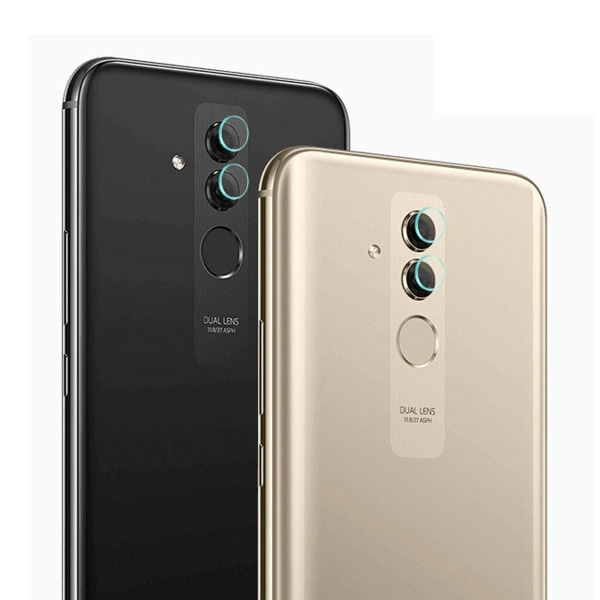 2-Pack Huawei Mate 20 Lite Skydd för Kamera Linsskydd Kameralins transparent