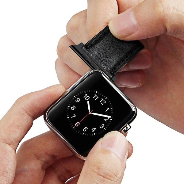 Apple Watch Adapter Connector för Klockarmband - Svart 42/44 svart 42/44