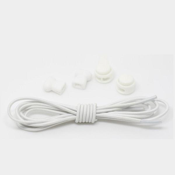 Elastiska Skosnören perfekta för Träningsskor (Vit) vit